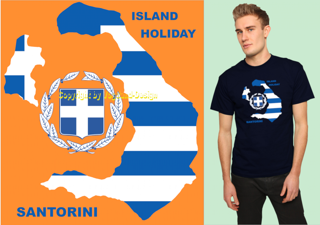Santorini_fertig_auf_orange_WZ_Shirt